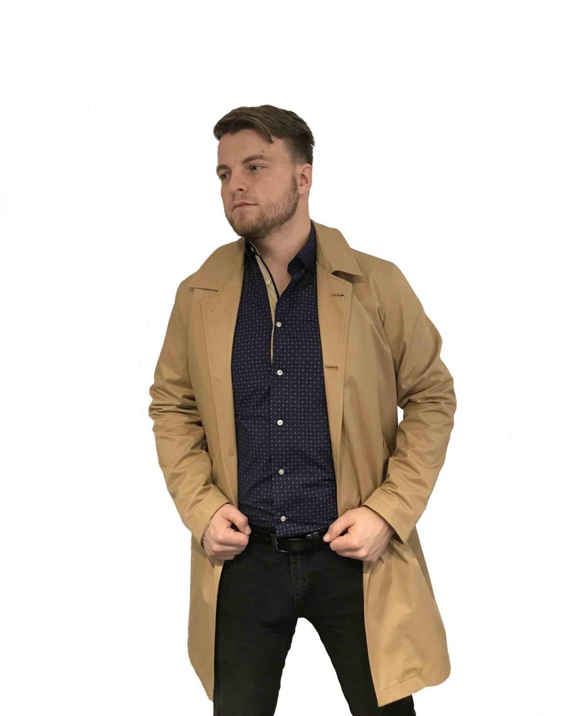 Ben Brown | BBC-11 Sand trenchcoat